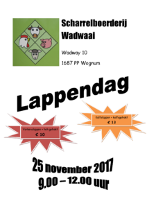 Lappendag in Wadway